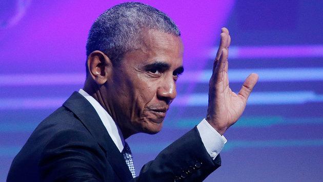 Obama ruft zum Kampf gegen Propaganda auf (Bild: AP)