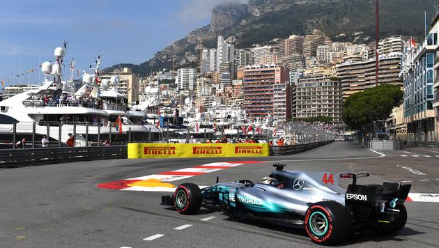 GP von Monaco: Als Ayrton Senna Gott begegnete (Bild: AFP)