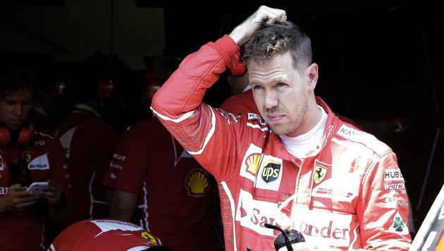 Sebastian Vettel dominiert auch Abschlusstraining (Bild: AP)