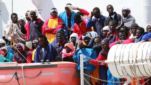 UNO-Bericht: 28.800 neue Flüchtlinge jeden Tag (Bild: AFP)