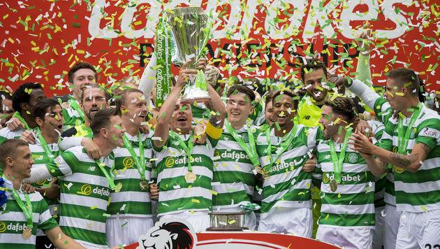 Prominenter Test-Gegner: Rapid spielt gegen Celtic (Bild: AP)