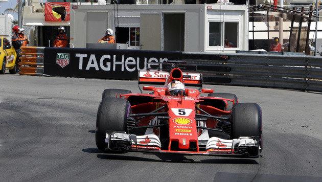 Kimi ausgebremst! Vettel triumphiert in Monaco (Bild: Copyright 2017 The Associated Press. All rights reserved.)