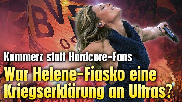 """War Helene-Fiasko """"Kriegserklärung"""" an Ultras? (Bild: AFP)"""