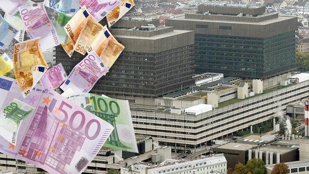 Wieder soll dem KAV Geld fehlen, diesmal rund 220 Millionen Euro. (Bild: thinkstockphotos.com, Klemens Groh)