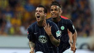 1:0 in Braunschweig - Wolfsburg bleibt erstklassig (Bild: AFP)