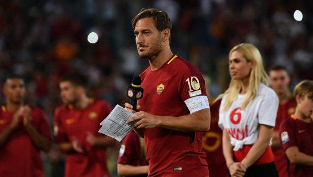 Roma-Legende Francesco Totti beendet Karriere (Bild: AFP)