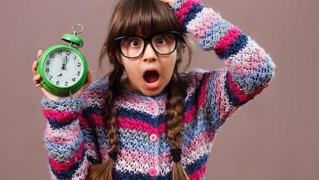 Was tun, wenn Kinder ständig trödeln? (Bild: thinkstockphotos.de)