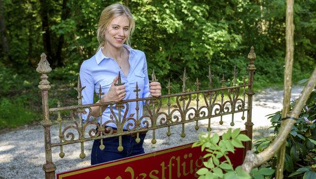 """Larissa Maroltist ab August in """"Sturm der Liebe"""" zu sehen. (Bild: ARD Das Erste)"""