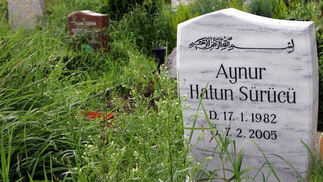 Das Grab von Hatun Sürücü (Bild: dpa-Zentralbild/Jens Kalaene)