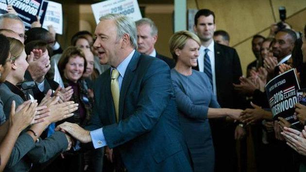 """""""House of Cards"""" geht in die fünfte Staffel (Bild: Netflix)"""