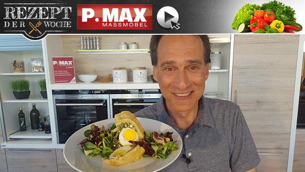Rezept der Woche: Kuchen mit Spinat-Ei-Füllung (Bild: krone.at)