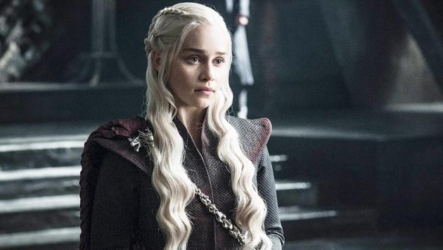 """Emilia Clarke als Daenerys Targaryen in """"Game of Thrones"""" (Bild: Viennareport)"""