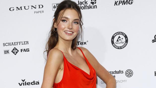'Germany's Next Topmodel'-Siegerin Céline Bethmann (Bild: API)
