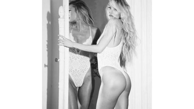 Candice Swanepoel feiert ihr sexy Comeback als Victoria's-Secret-Engel. (Bild: instagram.com/victoriassecret)