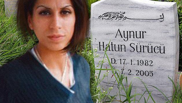 Hatun Sürücü wurde von ihrem Bruder erschossen. (Bild: Twitter.com, dpa-Zentralbild/Jens Kalaene)