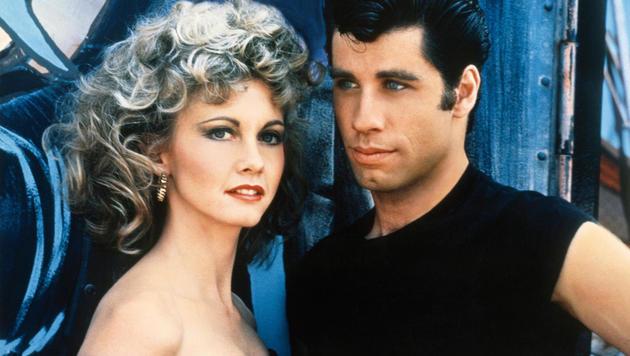 "Olivia Newton-John und John Travolta in ""Grease"" (Bild: CapFSD/face to face)"