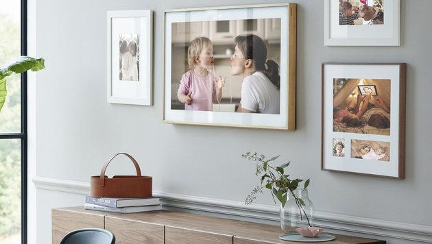 """""""The Frame"""" ist TV und Gemälde zugleich (Bild: Samsung)"""