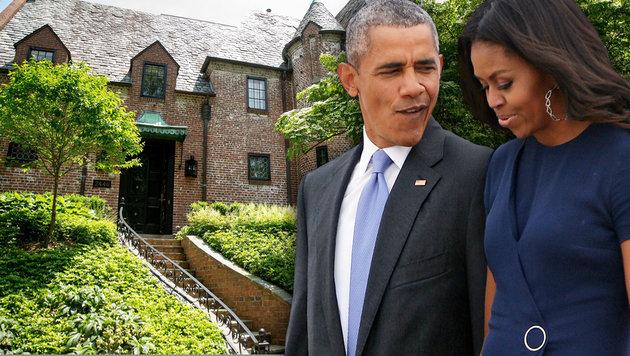 michelle barack obama ihr haus in washington haben sie. Black Bedroom Furniture Sets. Home Design Ideas