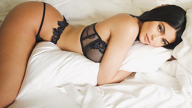 Kylie Jenner in sexy Dessous (Bild: instagram.com/kyliejenner)
