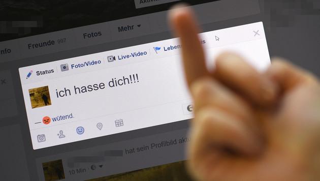 So viel Hass prasselt im Web auf Journalisten ein (Bild: APA/HELMUT FOHRINGER)