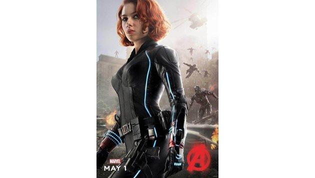 "Scarlett Johansson in ""Avengers: Age of Ultron"" (Bild: Viennareport)"