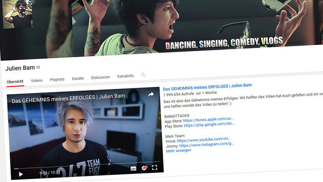 Webvideopreis für Bam, Böhmermann und Kebekus (Bild: youtube.com)