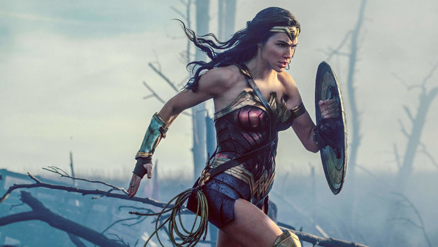 Gal Gadot in ihrer Rolle als Wonder Woman. (Bild: Viennareport)