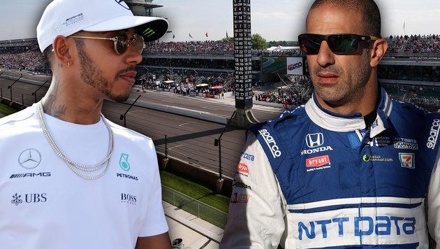 Motorsport-Zoff! Indy-Star schießt gegen Hamilton (Bild: GEPA, GETTY IMAGES NORTH AMERICA)