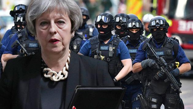 So will Theresa May den Terror bekämpfen (Bild: AP)