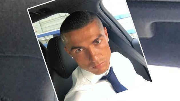 Nach dem Champions-League-Triumph überraschte Cristiano Ronaldo seine Fans mit einer neuen Frisur. (Bild: instagram.com/Cristiano Ronaldo)