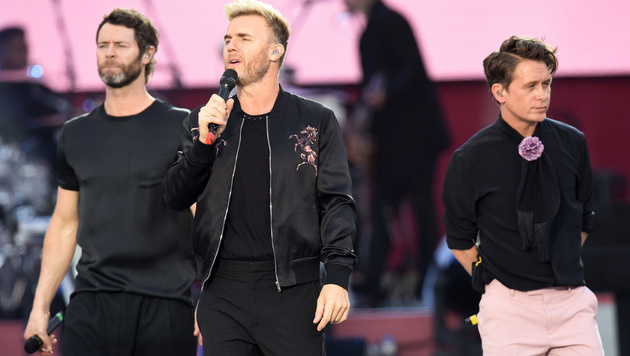 Take That (Bild: AP)