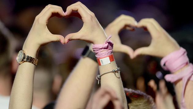 """""""One Love"""": Mit Musik und Liebe gegen den Terror (Bild: AP)"""