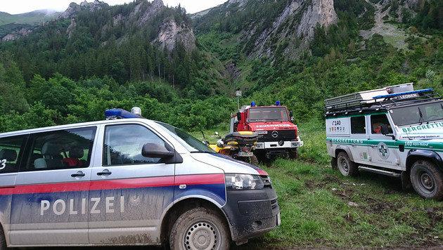 Drama bei Seilbergung: Polizist und Alpinistin tot (Bild: APA/ROLAND THENY/FILMTEAM-AUSTRIA)