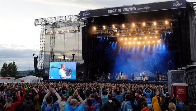 """""""Rock in Vienna"""": Auf die Toten Hosen ist Verlass (Bild: APA/HERBERT P. OCZERET)"""