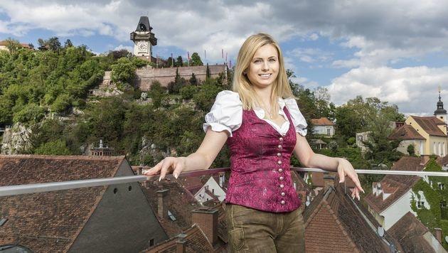 Martina, das naturliebende Grazer Stadtmadl (Bild: ATV)