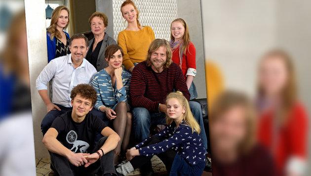 """Liebeschaos in Zweiteiler """"Neu in unserer Familie"""" (Bild: ARD)"""