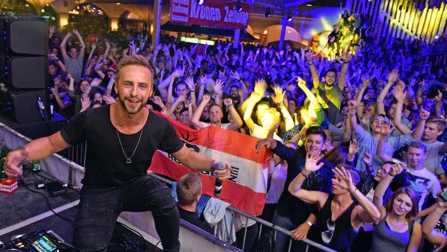 Österreichs Top-DJ Rene Rodrigezz produziert Song für US-Superstar Pitbull. (Bild: Markus Wenzel)