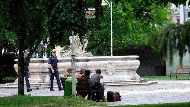 Um schlafende Anrainer zu schützen, könnte der Linzer Hessenpark nachts geschlossen werden. (Bild: Horst Einöder)