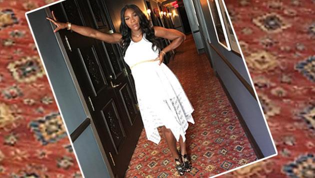 Stylish: Serena Williams genießt ihre Schwangerschaft. (Bild: instagram.com)