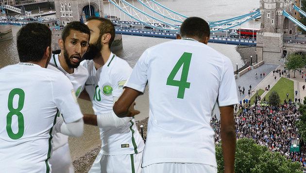 Schweigeminuten-Eklat: Saudis entschuldigen sich! (Bild: AFP)