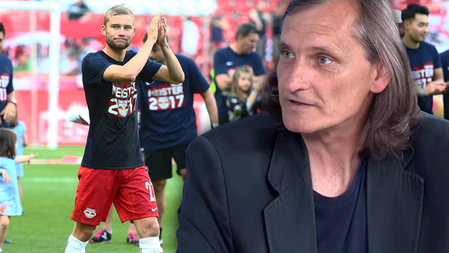 "Tatar: ""Laimer ist Keitas würdiger Nachfolger"" (Bild: GEPA, krone.tv)"