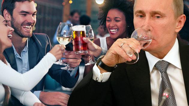 Trinkspiele und Freigetränke zu FBI-Ermittlungen (Bild: thinkstockphotos.de, AFP)