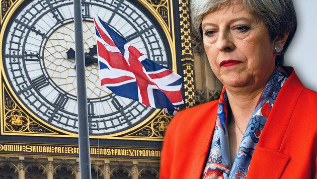 Theresa May (Bild: AFP, AP)