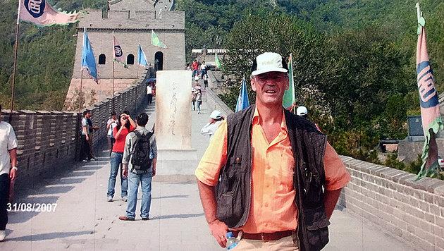 Eduard Paulus in China (Bild: Anna Dobler)