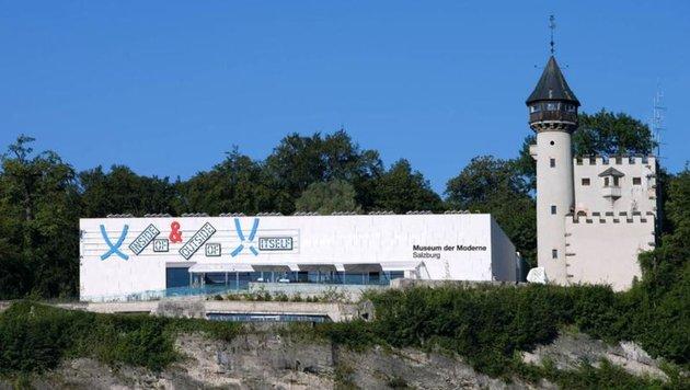 Das Museum der Moderne am Mönchsberg (Bild: Museum der Moderne Salzburg)