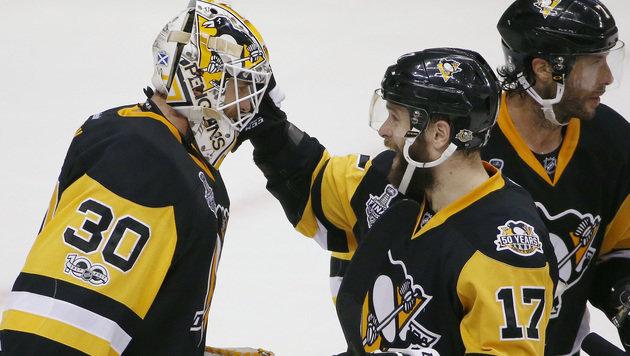 Pittsburgh deklassiert Nashville! 3:2 in der Serie (Bild: AP)