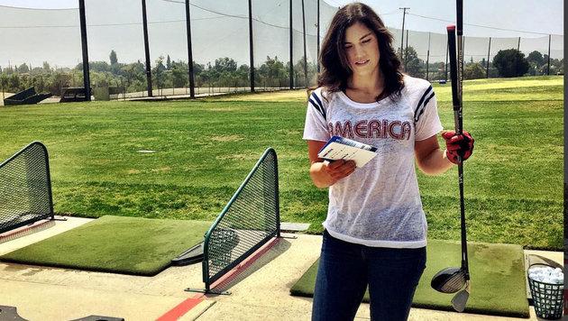 US-Torhüterin Hope Solo macht auch beim Golfen eine gute Figur. (Bild: instagram.com)