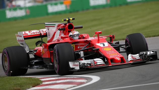Tagesbestzeit für Räikkönen im Montreal-Training (Bild: GEPA)