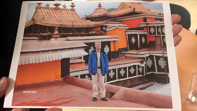Hofrat Eduard Paulus in China (Bild: Anna Dobler)