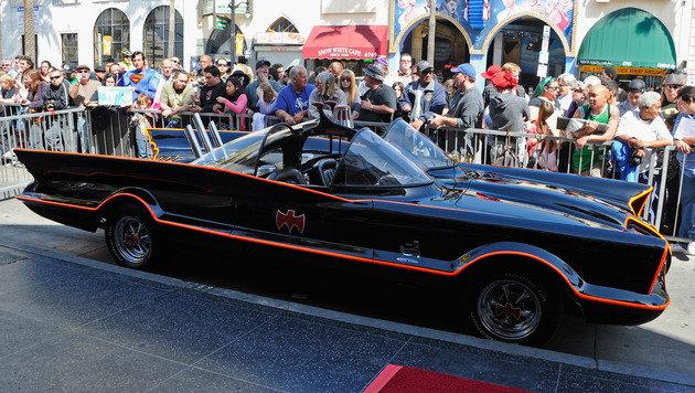 Vorbild für das TV-Batmobil war das legendäre Konzeptauto Licoln Futura aus dem Jahr 1955. (Bild: AFP)